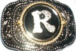 LETTER R BUCKLE RCW232R