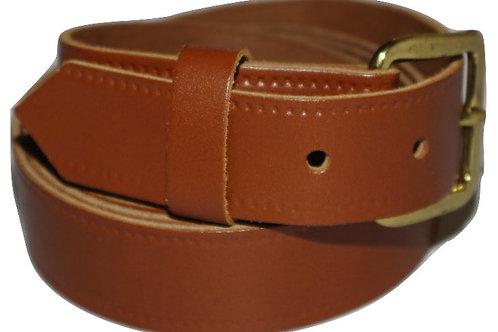 Tan Brown Real Leather Belt 30mm
