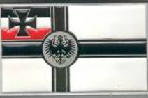 GERMAN WAR FLAG BUCKLE DD611