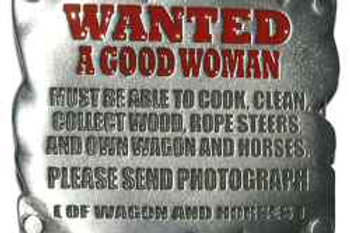 Wanted Good woman Buckle