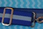 Childrens elastic belt Light blue and blue