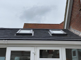 New Warm Roof Conversion (After)
