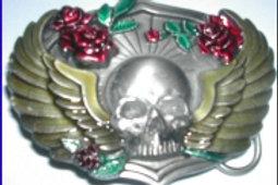 Skull Wings Buckle L80