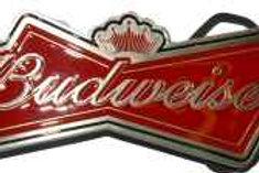 Budweiser Buckle bud label
