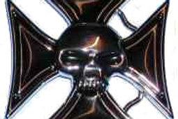 German Cross witnh Skull bk1005