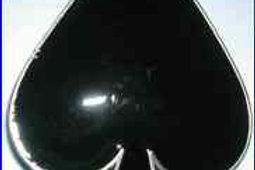 Black Spade Buckle dd698