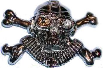German War Skull Buckle bk1009