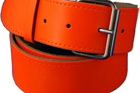Plain Orange Hi Viz Belt Strip 1.5 Inch 38mm