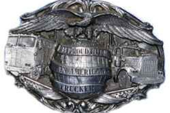 American Trucker Buckle U42