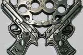 Guns and Knuckle Buckle