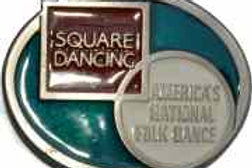 SQUARE DANCE BUCKLE EB2256