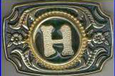 LETTER H BUCKLE RCW231GH