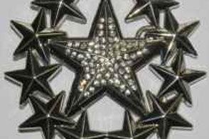 STAR WREATH BUCKLE