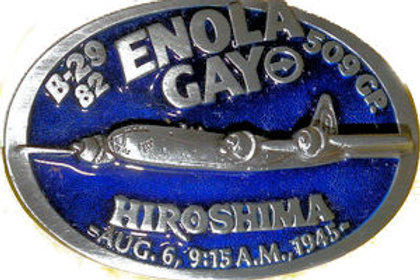 B29 Enola Gay Belt Buckle DD168