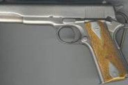 COLT 45 HAND GUN BUCKLE M156