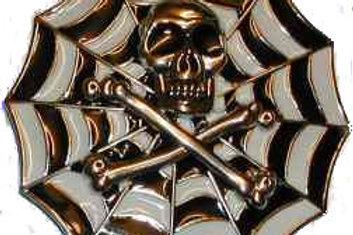 Web Skull Buckle bk1122