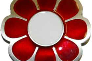 Red Daisy Buckle Gt4600