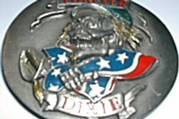 CONFEDERATE FOREVER DIXIE BUCKLE Y132