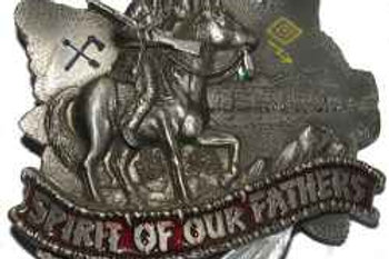 SPIRIT OF OUR FATHERS BUCKLE DD114