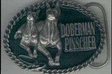 DOBERMAN PINSCHER BUCKLE DD551