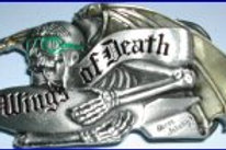 Wings of Death Buckle dd110