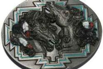 CRAZY HORSES BUCKLES B256