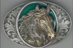 HORSE BUCKLE I76
