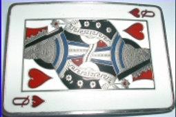 Queen of Hearts Buckle DD649