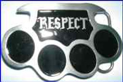 Nuckle Buckle Respect dd691