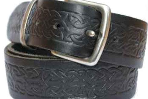 Celtic Pattern Black Belt