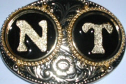 2 INITIALS BUCKLE NT