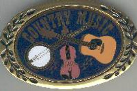 COUNTRY MUSIC BUCKLE OBCM