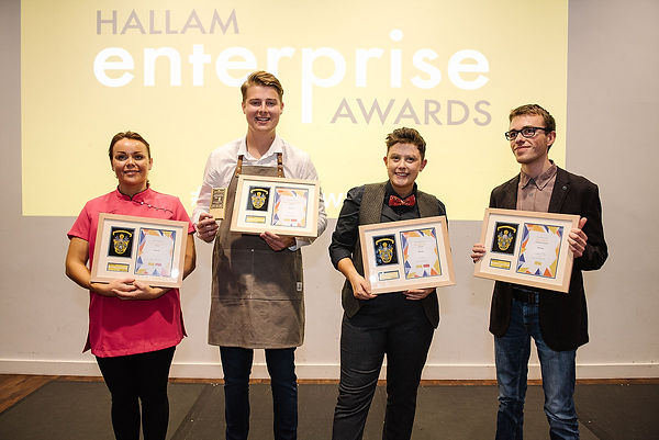 Harvey Morton wins Hallam Enterprise Award