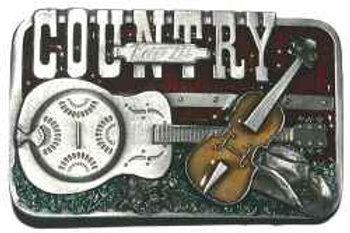 Keep it Country Music Buckle dd421