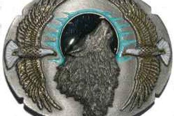 EAGLE WOLF BUCKLE F9