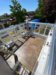 New Warm Roof Conversion (During)