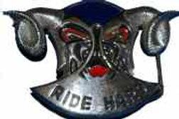 Ride Hard Buckle dd1988