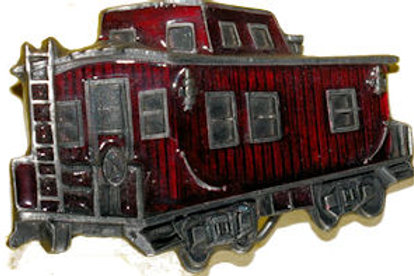 Train Carrage Belt Buckle GTJ271