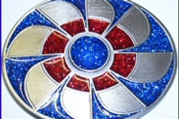 AZTEC FLOWER BUCKLE R9