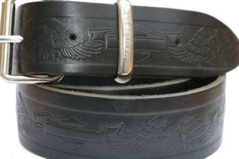 Biker Belt Black 1.5 Inch 38mm