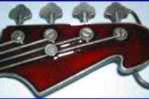 Guitar Buckle Z260red