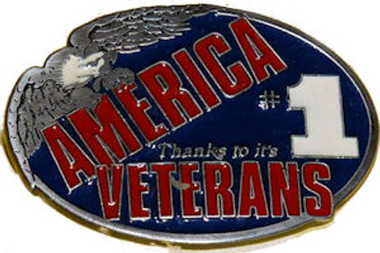Veterans Belt Buckle EB2402