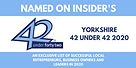 Harvey Morton Named on Insider's Yorkshi
