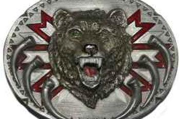 BEAR PATTERN BUCKLE V92