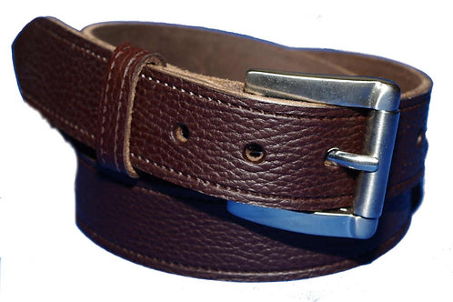 Abbey Hand Crafted Brown Belt 35mm