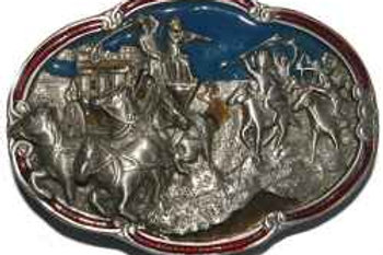 Cowboy and Indians Buckle cj1500