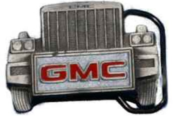 GMC TRUCKER BUCKLE GT1830