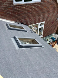 New Warm Roof Conversion