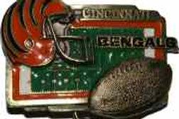 CINCINNATI BENGALS BUCKLE GT2007