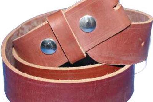 Light Oak Belt Strip for Buckles